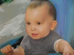 Picturi cu potrete/nuduri Portret de copil - luca