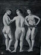 Picturi cu potrete/nuduri Cele trei gratii