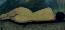 Picturi cu potrete/nuduri Nud cu spatele