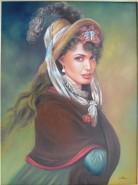 Picturi cu potrete/nuduri Angelyna