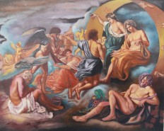 Picturi cu potrete/nuduri Bachus ii