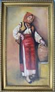 Picturi cu potrete/nuduri Taranca cu ulciorul
