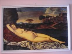 Picturi cu potrete/nuduri Vanus dormind
