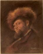 Picturi cu potrete/nuduri Portret de evreu  -  dupa grigorescu