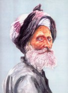 Picturi cu potrete/nuduri Potret de nomad