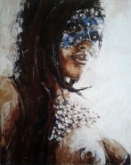 Picturi cu potrete/nuduri Masca