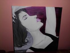 Picturi cu potrete/nuduri Un moment