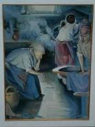 Picturi cu potrete/nuduri In spalotorie