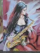 Picturi cu potrete/nuduri Muzica