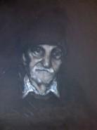 Picturi cu potrete/nuduri Portret bunic