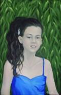 Picturi cu potrete/nuduri Portret fetita