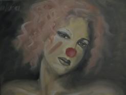Picturi cu potrete/nuduri Clovn