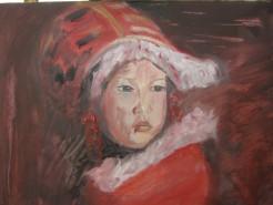 Picturi cu potrete/nuduri Micul eschimos