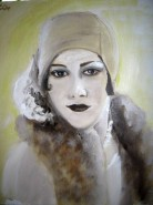 Picturi cu potrete/nuduri Vintage