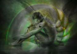 Picturi cu potrete/nuduri Mask of love