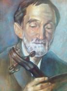 Picturi cu potrete/nuduri George bacovia