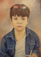 Picturi cu potrete/nuduri Stefanel