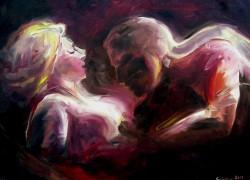 Picturi cu potrete/nuduri Doi amanti
