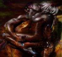 Picturi cu potrete/nuduri Lovers 2