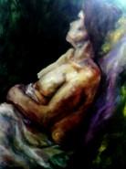 Picturi cu potrete/nuduri Melancholy