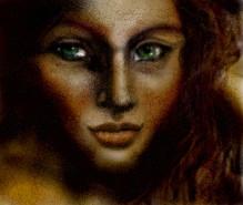 Picturi cu potrete/nuduri Sad girl