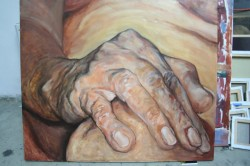 Picturi cu potrete/nuduri Hand