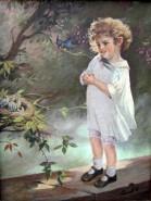 Picturi cu potrete/nuduri Jucariile ei preferate