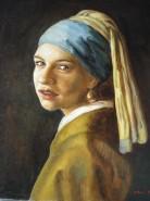 Picturi cu potrete/nuduri Girl with a pearl earring