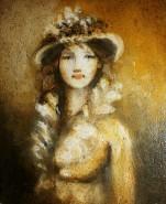 Picturi cu potrete/nuduri Anne