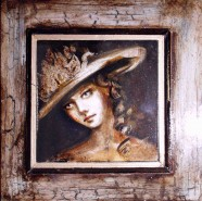 Picturi cu potrete/nuduri Victorian lady