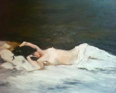 Picturi cu potrete/nuduri Nud grigorescu