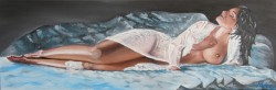 Picturi cu potrete/nuduri Nud dimineata