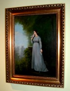 Picturi cu potrete/nuduri Femeia cu porumbel
