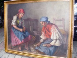 Picturi cu potrete/nuduri Ghicitoarele