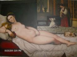Picturi cu potrete/nuduri Reproducere-venus din urbino