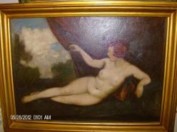 Picturi cu potrete/nuduri Tablou nud superb