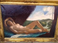 Picturi cu potrete/nuduri Venus dormind
