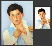 Picturi cu potrete/nuduri Portret dupa poza