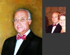 Picturi cu potrete/nuduri Portrete la comanda dupa fotografie