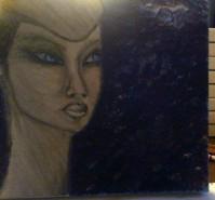 Picturi cu potrete/nuduri Leila in harmonious system