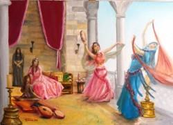 Picturi cu potrete/nuduri Bairam la sultana