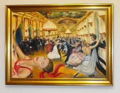 Picturi cu potrete/nuduri Bal vals vienez