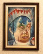 Picturi surrealism Teatrul ambulant Grigore Vasiliu Birlic
