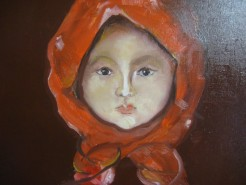 Picturi cu potrete/nuduri Fetita cu basma
