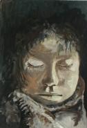 Picturi cu potrete/nuduri Sleeping child