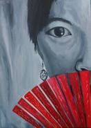 Picturi cu potrete/nuduri Young mexican girl