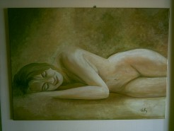 Picturi cu potrete/nuduri Nud 1.