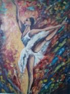 Picturi cu potrete/nuduri Balerina 2