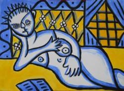 Picturi cu potrete/nuduri Decalog. a 7-a porunca