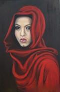 Picturi cu potrete/nuduri Rosu si negru